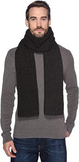 Cardi Stitch Knit Scarf