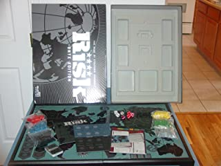 Parker Brothers Risk Onyx Edition The Game of Strategic Conquest