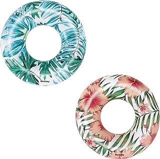 Bestway, Tropical Palms Swim Ring 119CM 26-36237
