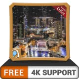 Relámpagos gratis Rainy Drops HD: humedece la pantalla de tu TV de fuego con una fresca escena lluviosa en tu TV HDR 4K, TV 8K y dispositivos de fuego como fondo de pantalla, decoración para las vacac
