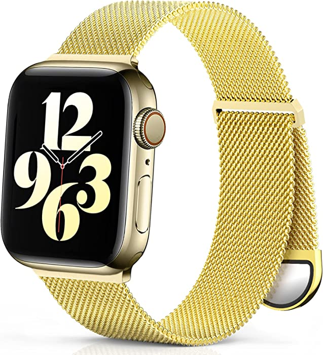 The Best Apple Watch Band 38Mm Metal Magnetic Clasp