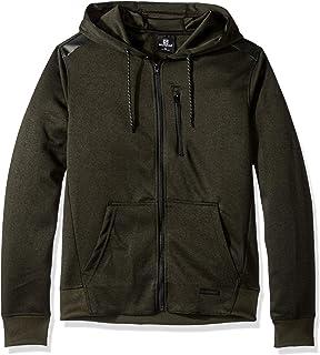 Southpole Men's Marled Tech Fleece Full Zip Hoodie Hooded Sweatshirt