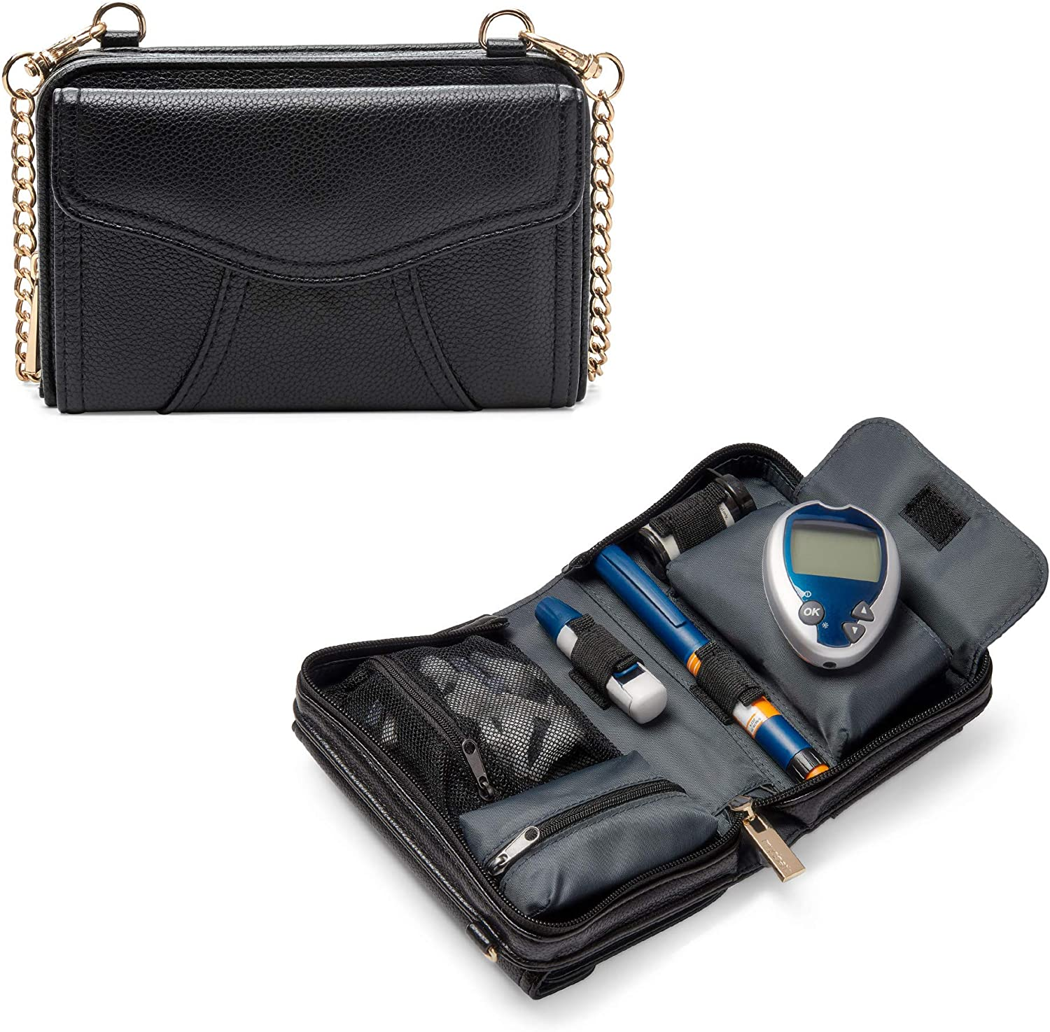Myabetic Marie Max 75% OFF Diabetes Crossbody for Including Storage Discount mail order