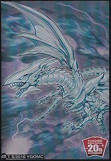(100) Yu-Gi-Oh Standard Size Sleeve Blue-Eyes Alternative White Dragon Card Sleeves #49 62x89mm