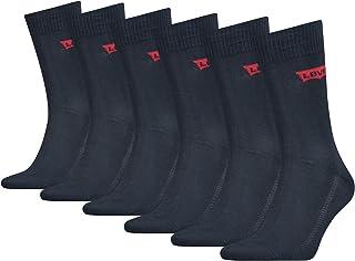 Levi's Batwing Logo Regular Cut Socks (6 Pack) Calcetines Unisex Adulto