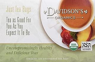 Davidson's Tea Decaf English Breakfast, 100-Count Tea Bags