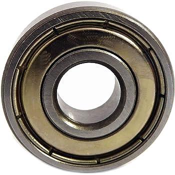 5 Pcs Metal Double Shielded Ball Bearing Bearings 5*19*6 635ZZ 5x19x6mm