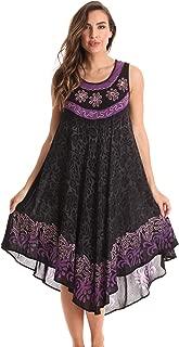 Riviera Sun Batik Embroidered Dress Sundresses for Women
