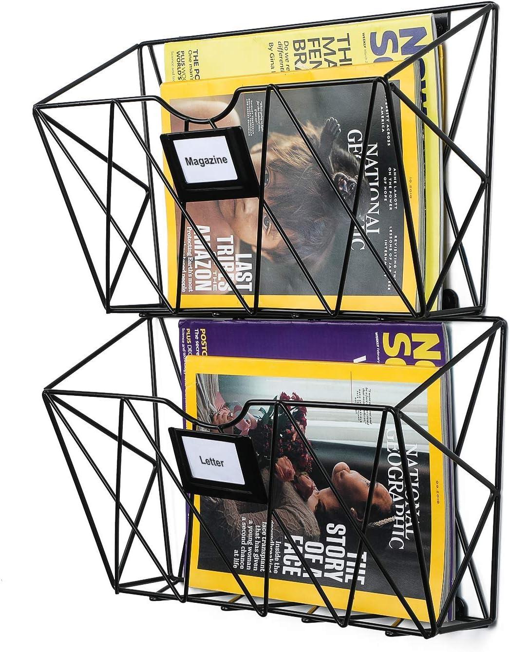 Samstar Wall File Max 68% Super sale period limited OFF Holder Mesh Hanging Pocket Ma Mount
