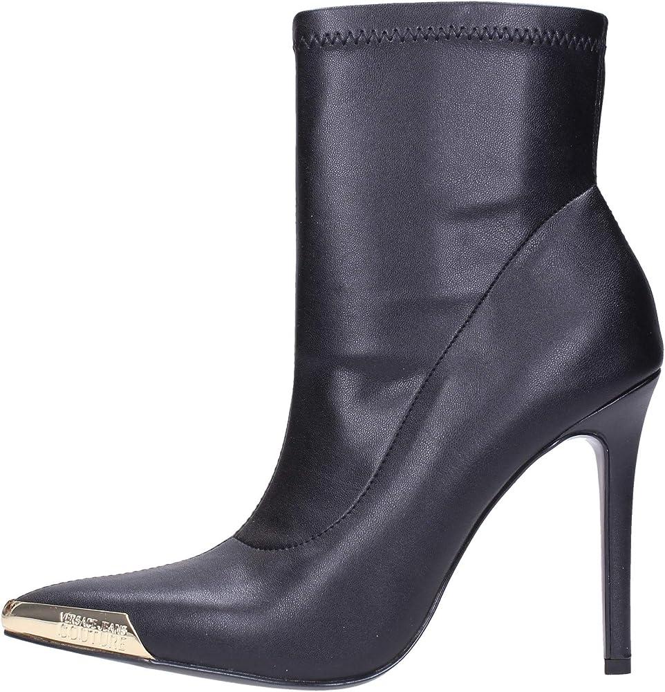 Versace jeans couture stivali tronchetti in pelle E0VUBS0371157899