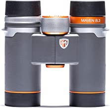 Maven B3 10X30mm ED Compact Binoculars Gray/Orange