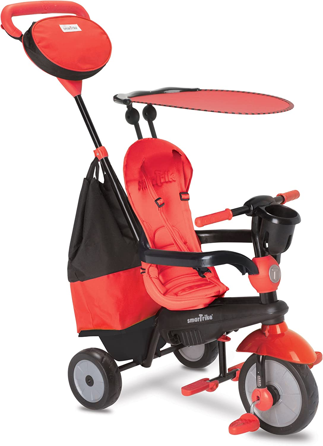 SmarTrike 4in1 Cruise Tricycle, Red