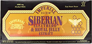 Imperial Elixir Siberian Eleuthero and Royal Jelly Extract, 30-Count