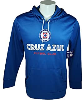 Cruz Azul Fleece Jacket Sweatshirt Official Soccer Hoodie 003