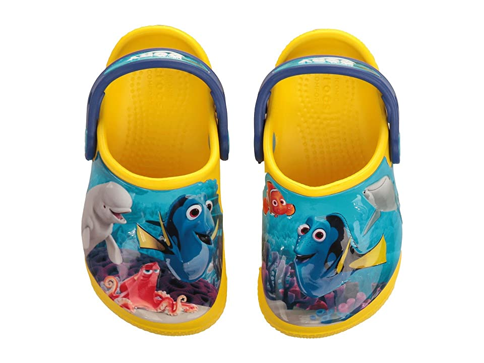 Crocs Kids CrocsFunLab Dory (Toddler/Little Kid) (Lemon) Kid