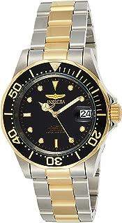 Men's Invicta Pro Diver Unidirectional Two Tone Automatic Black Dial 8927