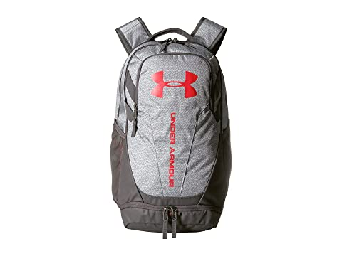 0 UA Hustle Armour White Under Red 3 Charcoal wI5qxH