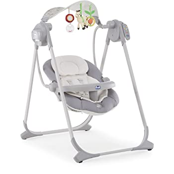 Chicco Swing Polly Swing Up (Silver)
