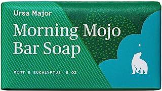 Ursa Major Natural Bar Soap   Morning Mojo Bar Soap   Exfoliating Soap with Peppermint, Eucalyptus and Rosemary   Formulat...