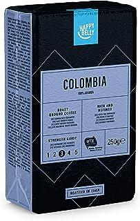Amazon-Marke: Happy Belly Gemahlener Röstkaffee COLOMBIA 4 x 250g