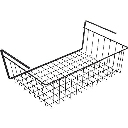 Metaltex Panier sous-Sol, Noir Mat, 40 x 26 x 14 cm