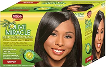 African Pride Olive Miracle Deep Conditioning Relaxer - Super by AFRICAN PRIDE