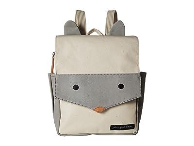 petunia pickle bottom Grey Fox Mini Me Critter Pack (Grey/Ivory) Diaper Bags
