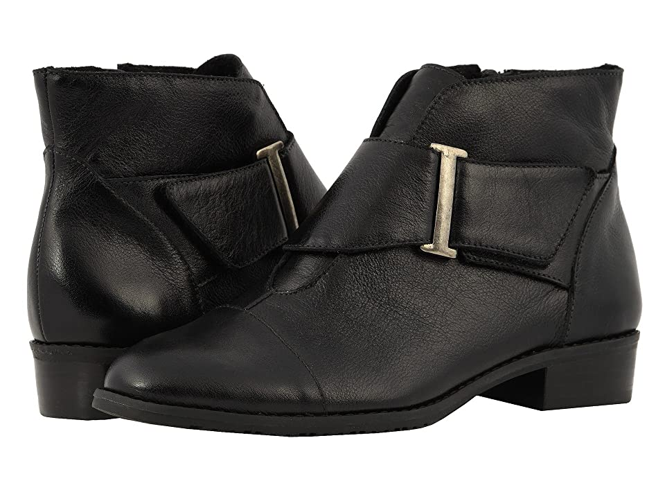 Walking Cradles Trix (Black Leather) Women