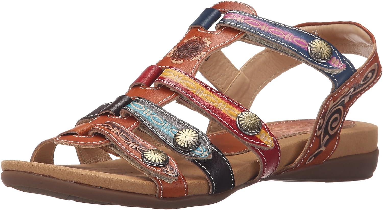 L'Artiste by Spring Step Womens Gipsy Flat Sandal