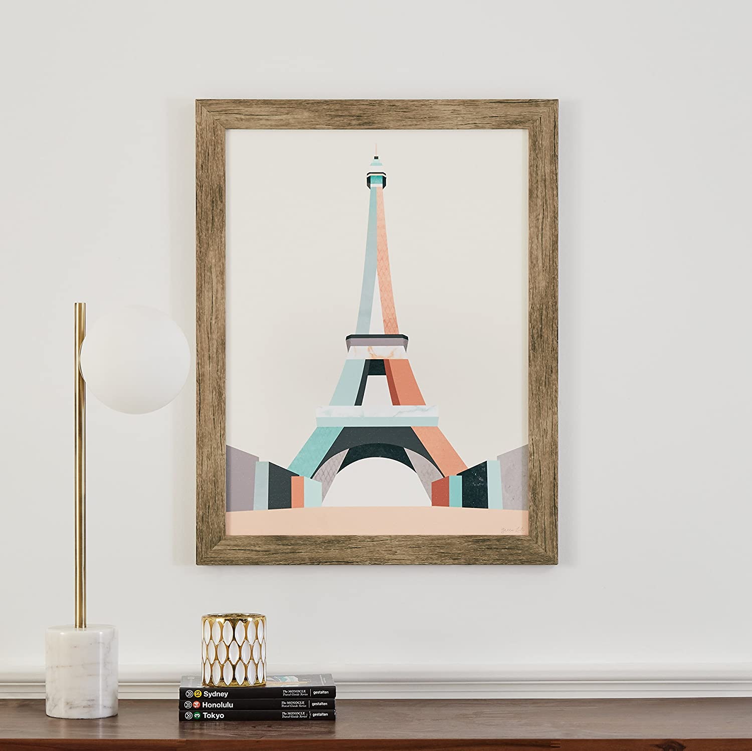 Buy Amazon Brand – Stone & Beam Mid Century Modern Teal and Pink ...