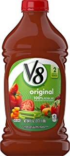 V8 Original 100% Vegetable Juice, 64 oz. (Pack of 6)