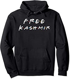 Free Kashmir Friends Edition - Stay Strong & Keep Protesting Pullover Hoodie
