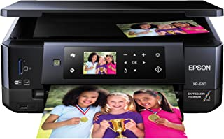 Epson XP-640 Wireless Color Photo Printer 2.7, Amazon Dash Replenishment Enabled