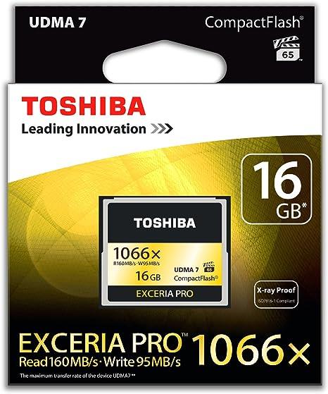 Toshiba Exceria Pro Compactflash 16gb Speicherkarte Computer Zubehör