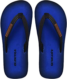 Electra Kids Blue&Black Color Thong-Style Slippers and Flip Flops