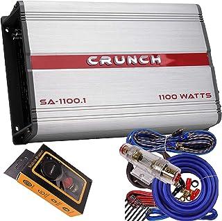 $89 » Crunch SA-1100.1 Smash Series 1,100-Watt Monoblock Class AB Amp Car Audio Sound System Subwoofer Speaker Amp Amplifier wit...