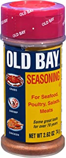 OLD BAY Shaker Bottle Seafood Seasoning, 2.62 oz (Pack of 12)