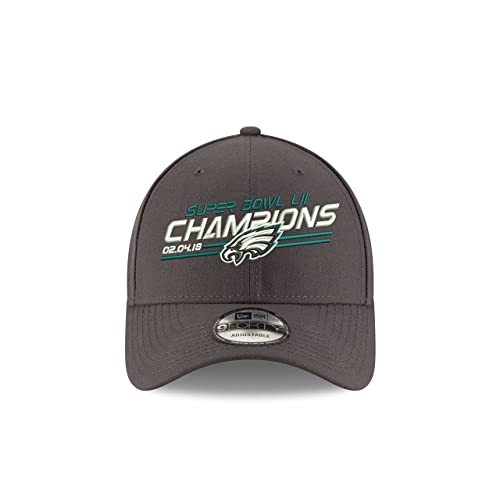 quality design 7c719 81610 New Era Philadelphia Eagles Super Bowl Lii Champions 9Forty Adjustable Hat  –Graphite