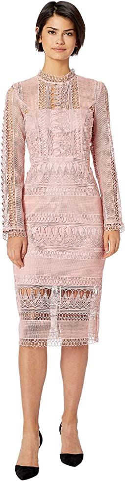 Mariana Long Sleeve Lace Dress