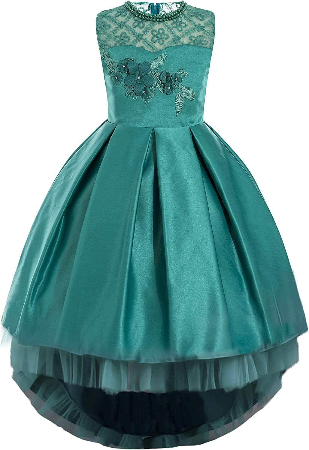 aibeiboutique Flower Girl Dress Princess Butterfly Ball Gown Dresses for Wedding Birthday Party