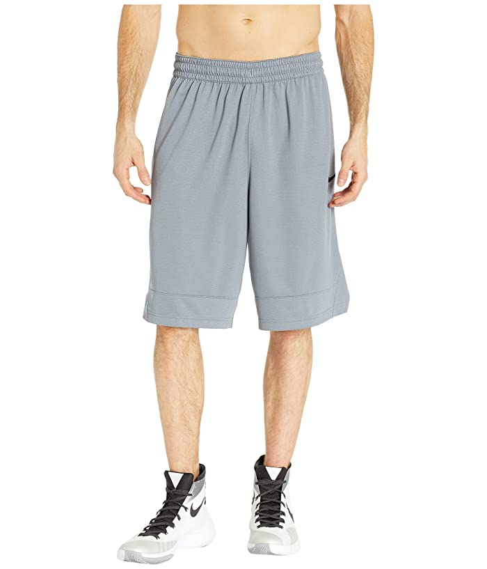Nike Dry Icon Shorts (Cool Grey/Cool Grey/Black) Men
