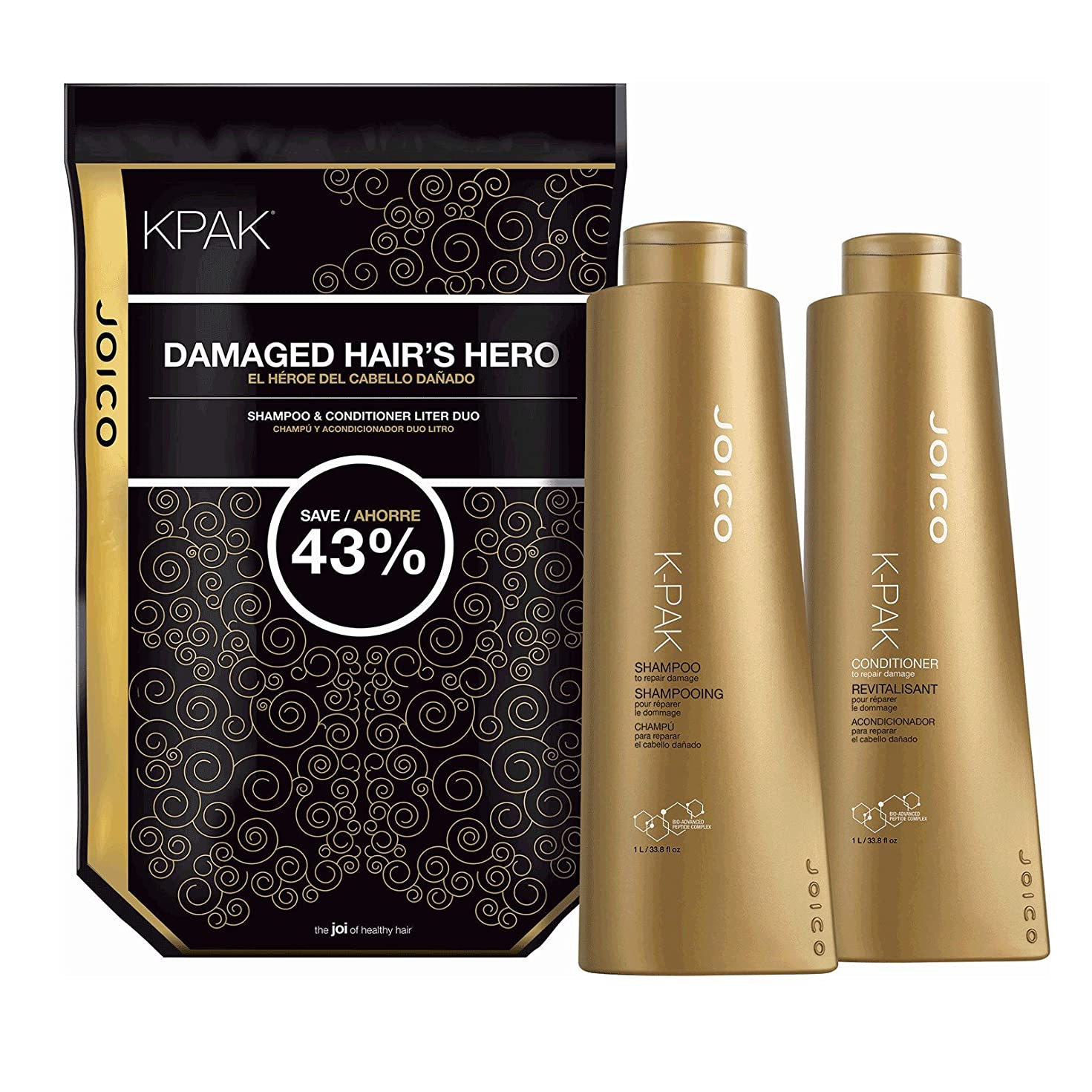 足首レディ起点by Joico K PAK RECONSTRUCT DAILY CONDITIONER FOR DAMAGED HAIR 33.8 OZ by JOICO