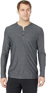 [adidas(アディダス)] メンズタンクトップ?Tシャツ Adicross Mesh Stripe Long Sleeve Henley [並行輸入品]