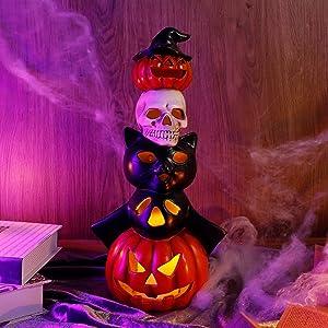 Lulu Home Halloween Table Top Decorations, 14.5