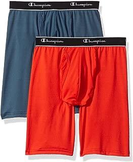 Men's 2-Pack Tech Performance Longer Leg Boxer Brief