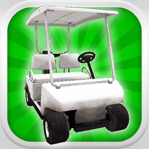 Un chariot de golf Racer: Crazy golfeur Caddie Race 3D