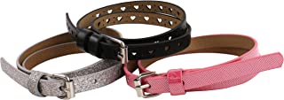 Verge Little 3 Pack Girls' Belts