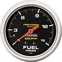 Auto Meter 5411 Pro-Comp Liquid-Filled Mechanical Fuel Pressure Gauge