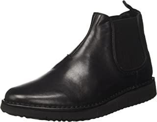 U Pluges B Mens Nappa Leather Chelsea Boots