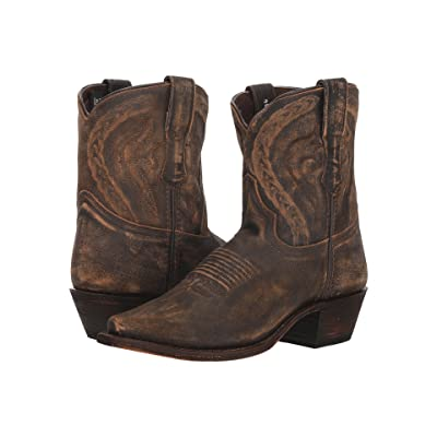 Dingo Annie (Brown Leather) Cowboy Boots